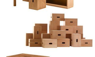 Authentic Wood van Le Corbusier voor Cassina