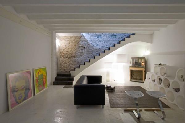 Industri le loft in hartje barcelona gimmii shop magazine voor dutch design - Keuken industriele loft ...