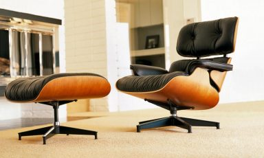 Making of Eames Lounge chair & Ottoman