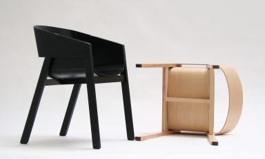 Sympathieke samengestelde stoel van TON