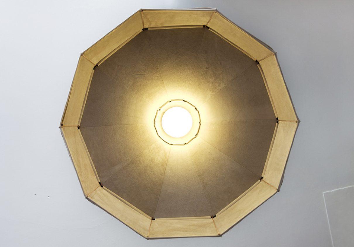 Leren Lamp van Pepe Heykoop