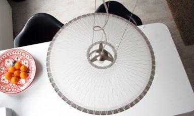 Goed ijzergaren spinnen met de Disque lamp