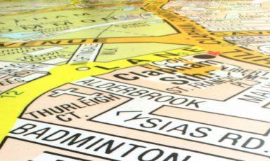 Geld, gras of landkaarten op je vloer
