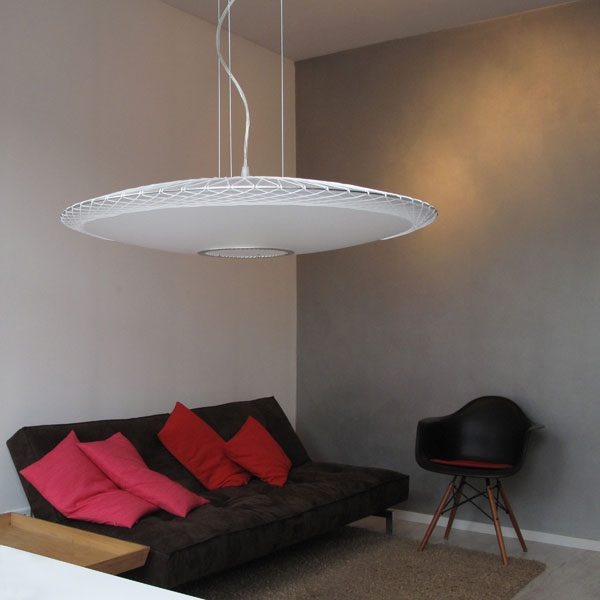 lamp disque by marc van der voorn Dutch design