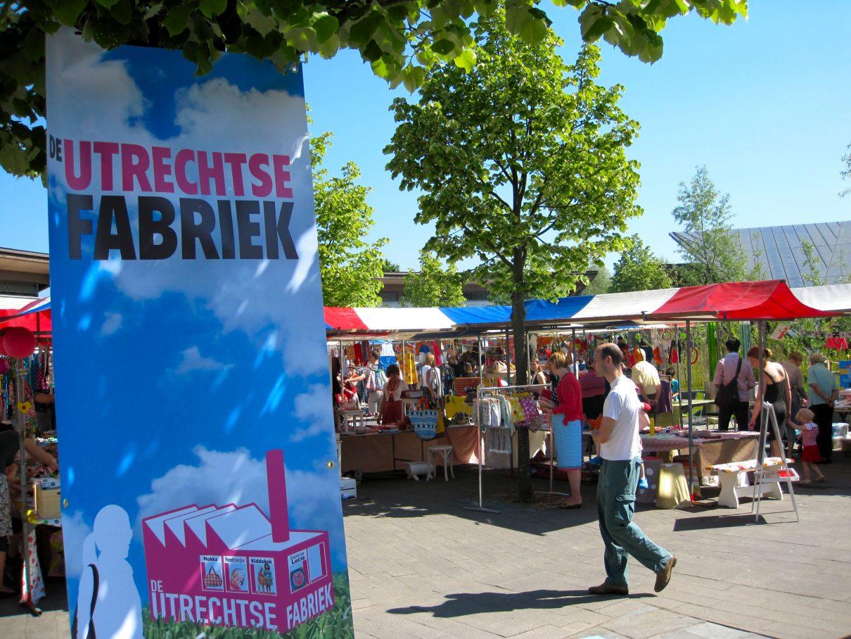 Hippe Pinkstermarkt in Utrecht