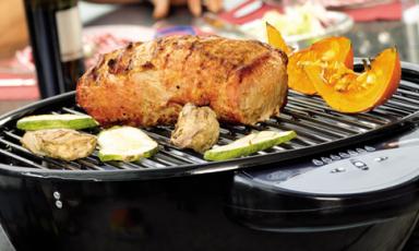 Elektrische barbecue voor kleine ruimtes