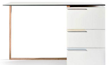 Minimalistisch bureau van Reinier de Jong