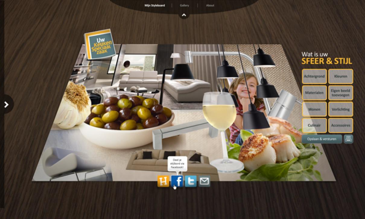 Maak een Moodboard, Kies een Keuken