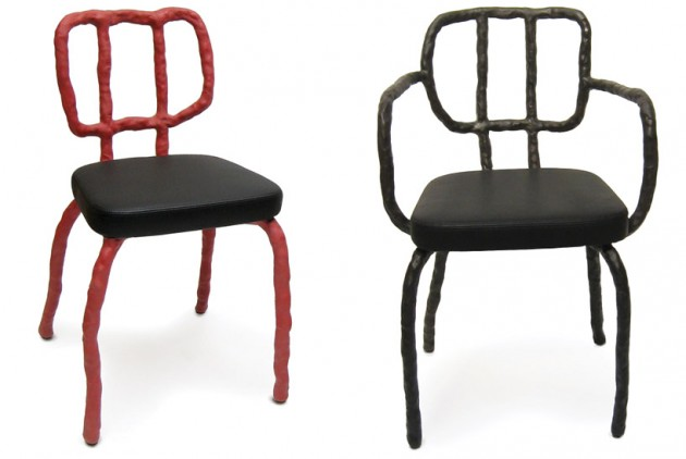 Maarten Baas-plan clay chairs - Gimmii