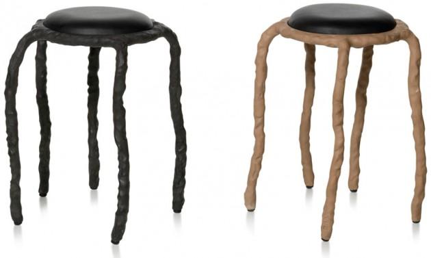Plain clay stools krukje van Maarten Baas