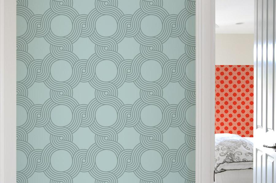 Begeerlijk behang gimmii shop magazine voor dutch design - Behang patroon voor de slaapkamer ...