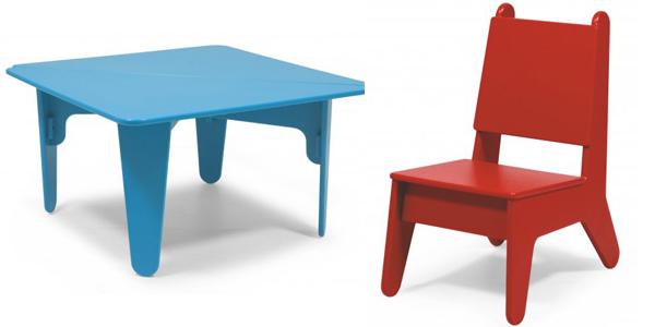 Chillstoeltjes en relaxtafeltjes van loll design gimmii for Leuke stoel voor slaapkamer