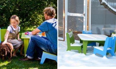 Chillstoeltjes en relaxtafeltjes van Loll Design