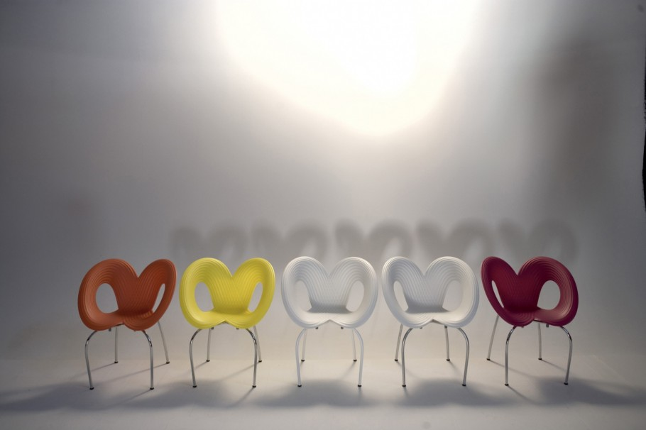 Betaalbare ripple chair van ron arad gimmii shop magazine voor dutch design - Ron arad ontwerper ...