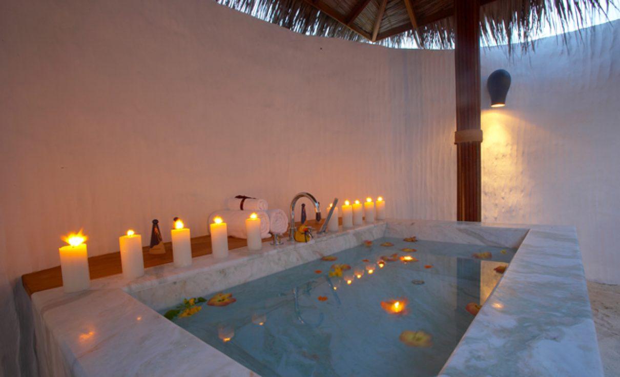 Super-de-luxe op de Malediven