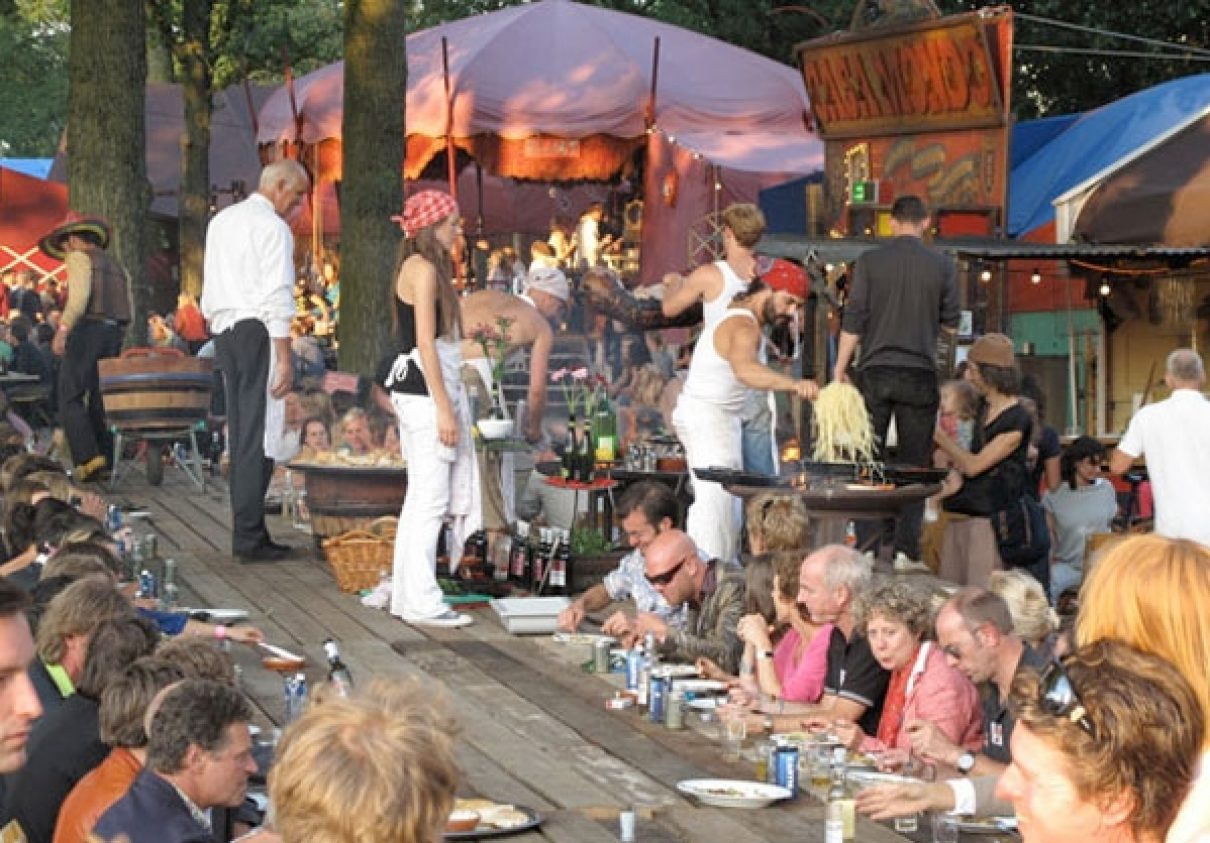 Parade van de Idee bij Piet Hein Eek