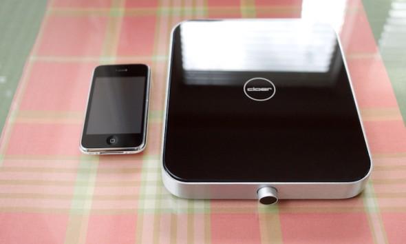 Keukenweegschaal-Cloer-iphone-zwart