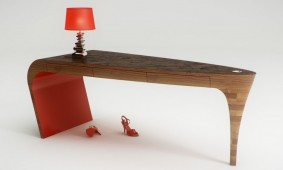 bureau-stiletto-rood-van-slinter-works