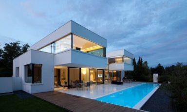 Villa volledig gemaakt van HI-MACS