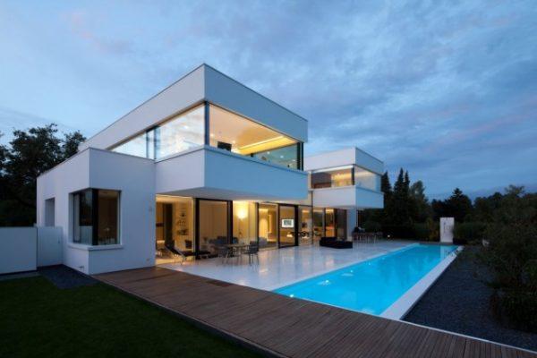 Villa volledig gemaakt van hi macs gimmii dutch design
