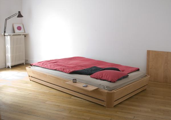 Meer bed met de 100 van christian spiess gimmii shop magazine voor dutch design - Nachtkastje voor loftbed ...