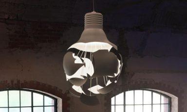 Scheisse lamp