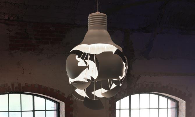 scheisse lamp gimmii dutch design