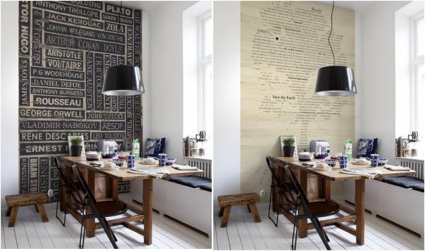 een heuse bibliotheek op je behang  gimmii dutch design, Meubels Ideeën