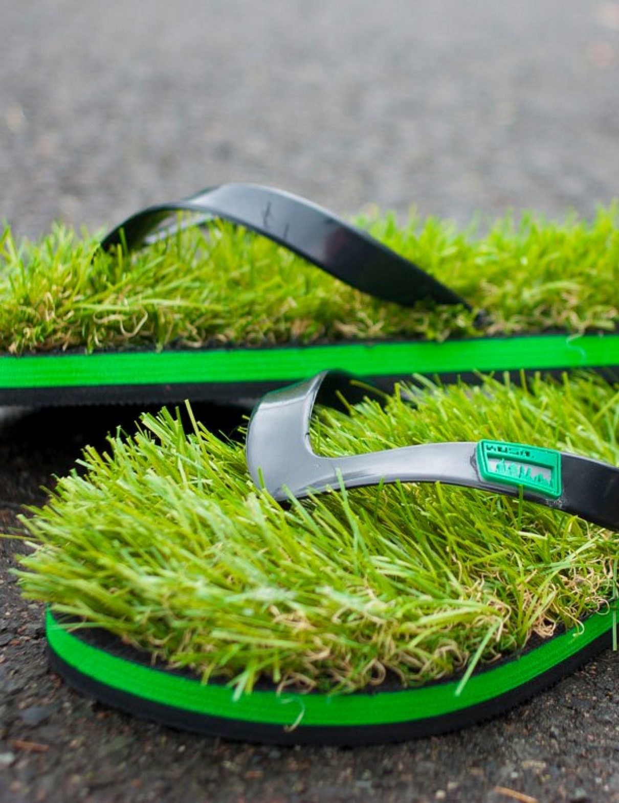 Altijd en overal gras onder je voeten