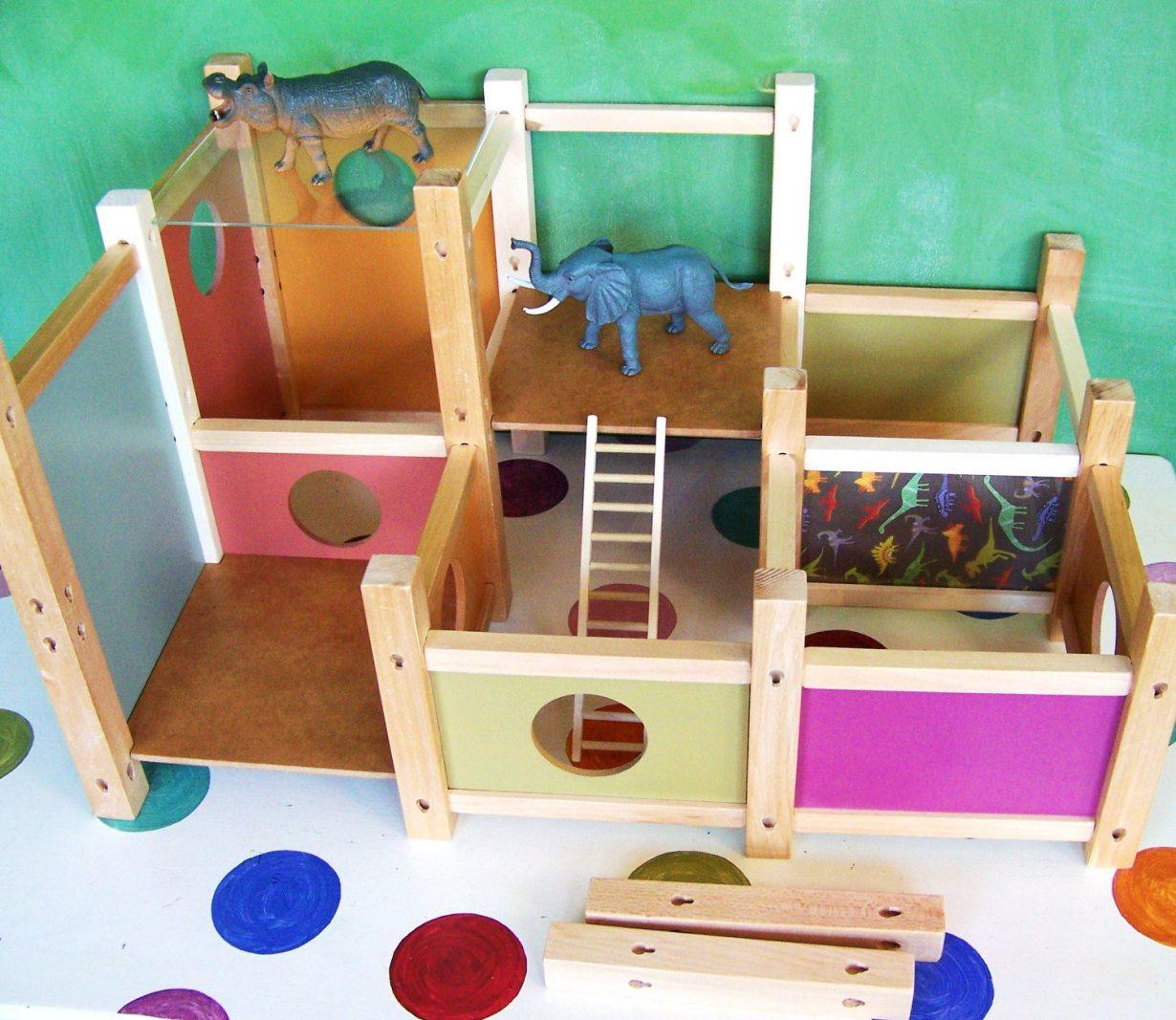 Poppenhuis voor jongens en meisjes gimmii shop magazine voor dutch design - Kamer voor kleine jongen ...
