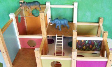 Poppenhuis voor jongens en meisjes