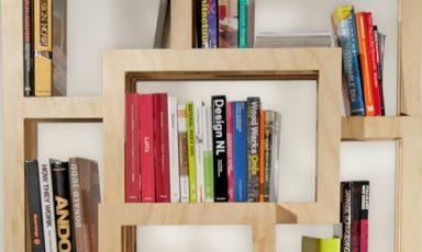 FRAMES boekenkast van Gerard de Hoop