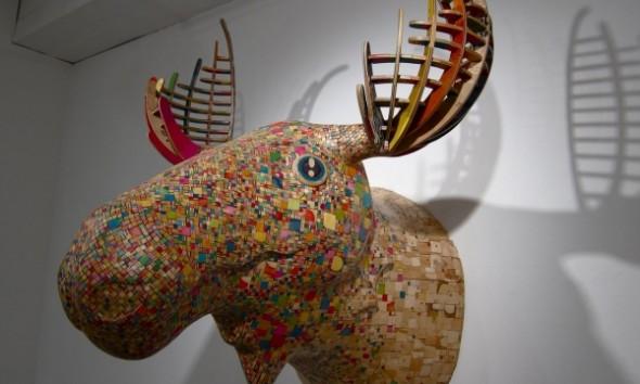 3D kunst van de Japanse kunstenaar Haroshi