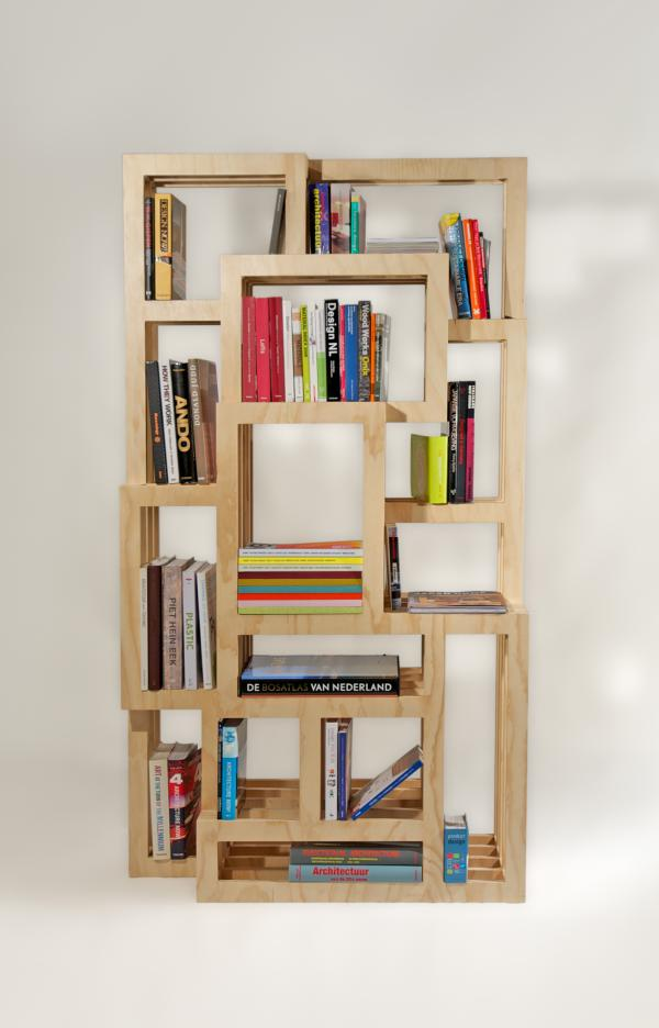 Frames boekenkast van gerard de hoop gimmii shop for Bookshelf layout ideas