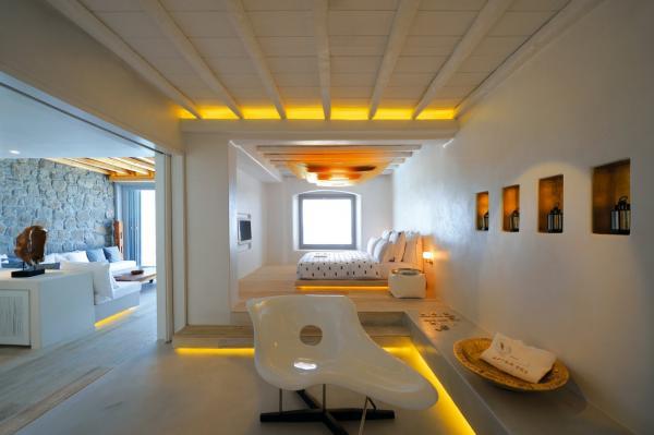 Ultiem ontspannen op mykonos gimmii dutch design - Kamer wit design ...