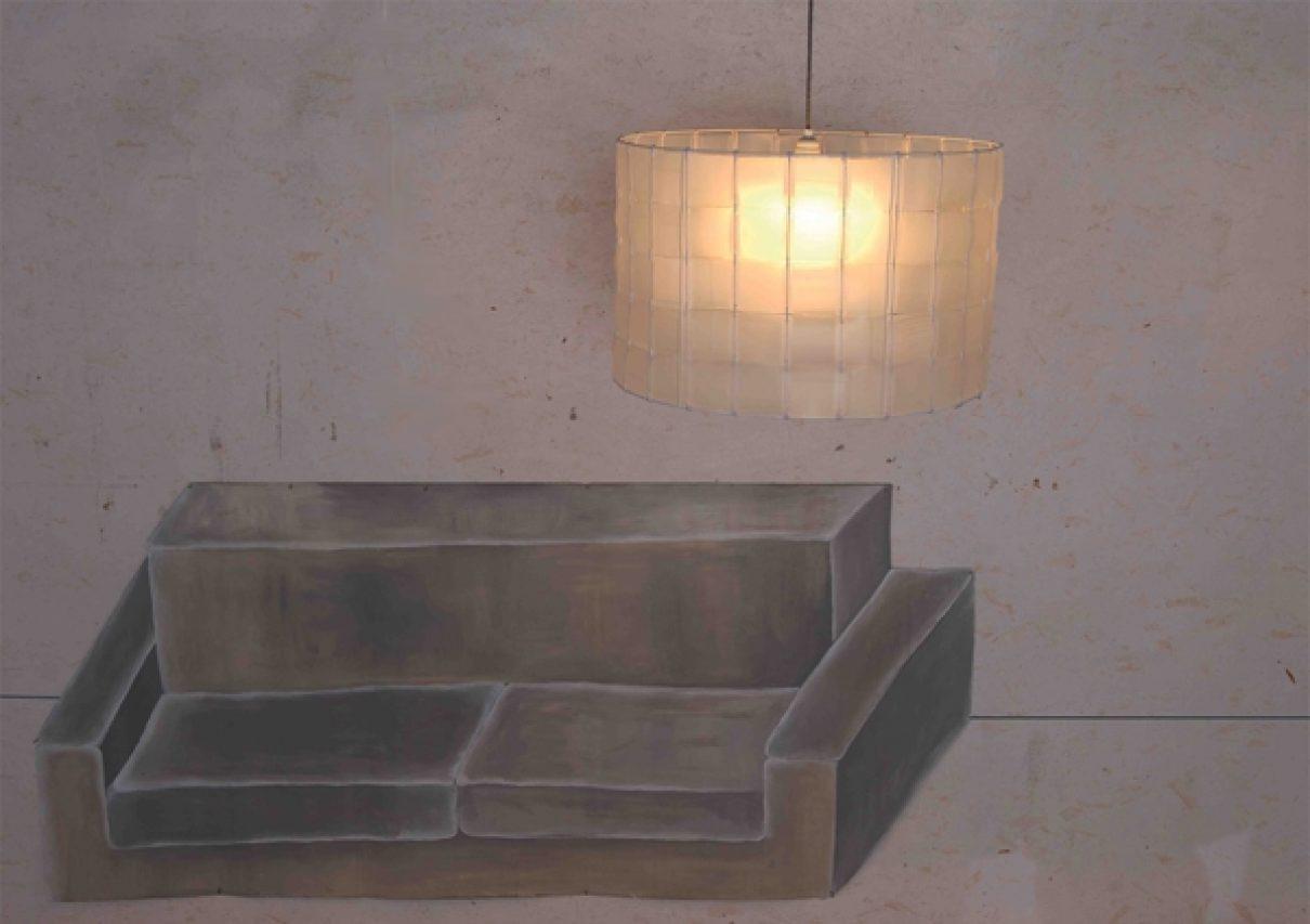 Eén halfvolle lamp graag