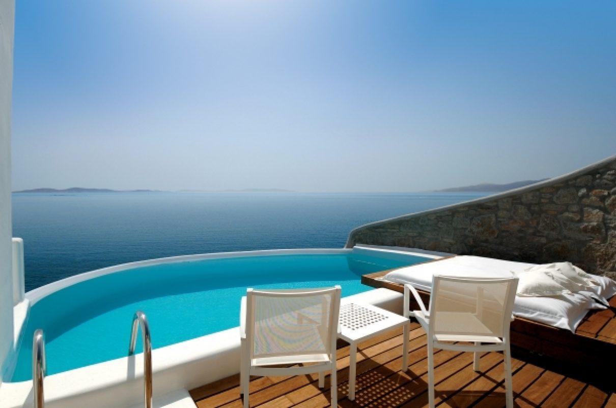 Ultiem ontspannen op Mykonos