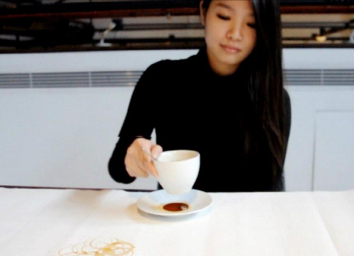 Schilderen met koffie