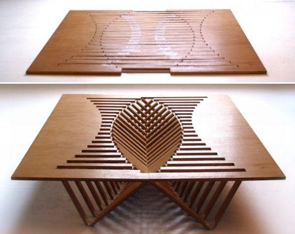 Rijzende tafel stoel en kruk gimmii shop magazine voor dutch design - Tafel treku ...