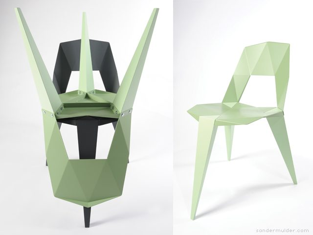 Sander Mulder Pythagoras stoel