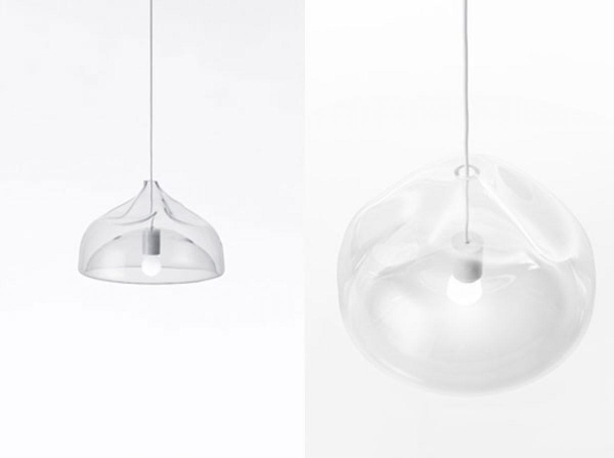 Lampen van glas