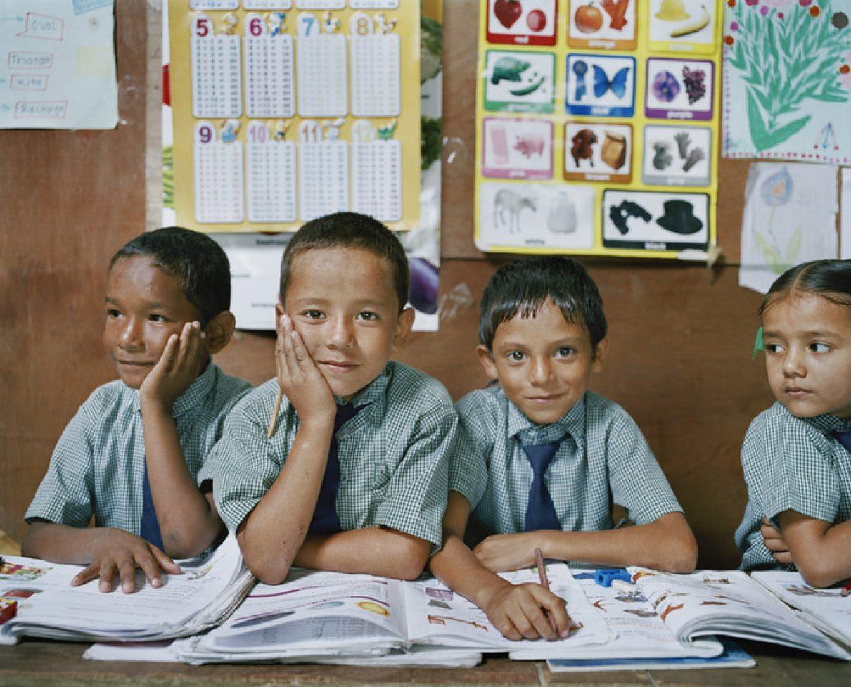 Designveiling voor weeskinderen in Nepal