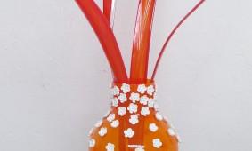 Orangebloom vaas voor Oranienbaum van Ineke Hans