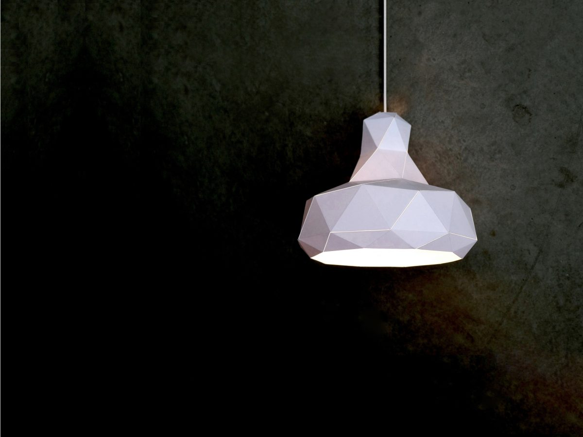 Helix lamp wit