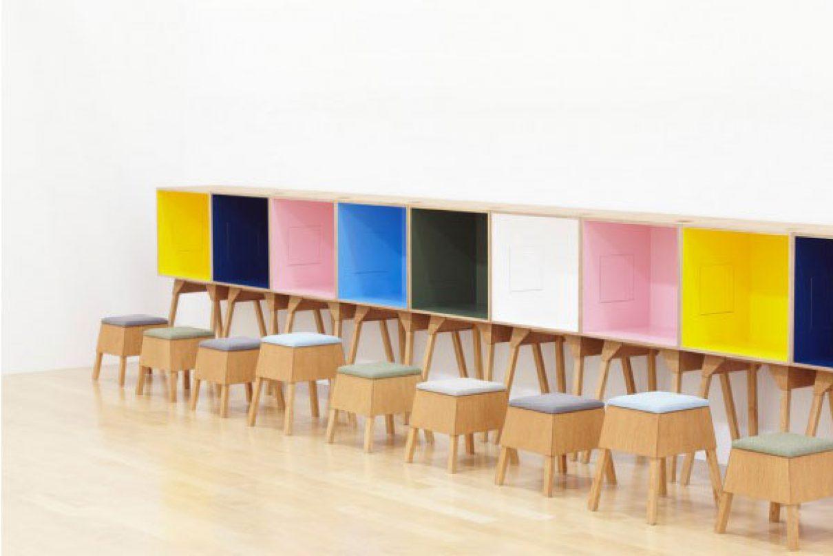 Kleurrijke werkplekken van Torafu Architects