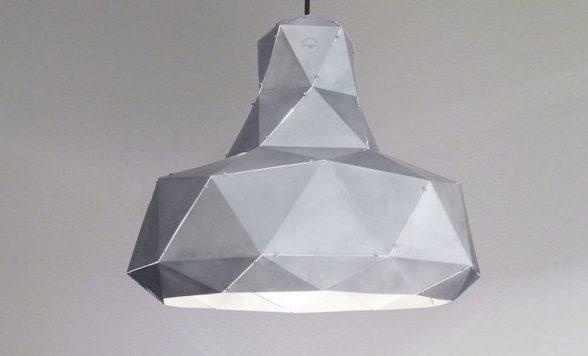 Helix hanglamp aluminium