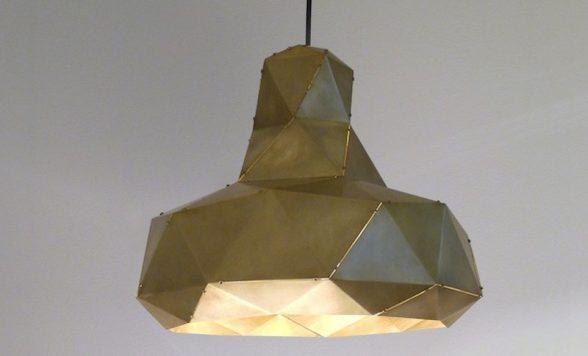 Helix hanglamp messing