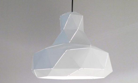 Helix hanglamp wit