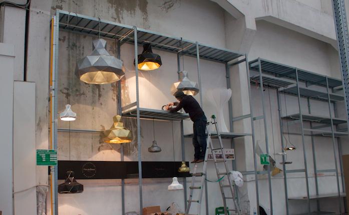 Helix lampen van Marc de Groot