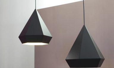 Diamond lamp van Sebastian Scherer